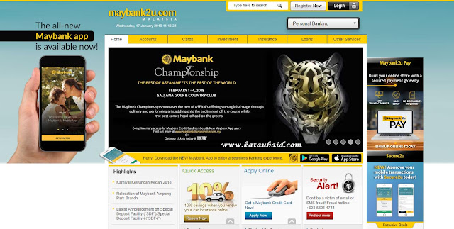 Transfer Duit Tabung Haji ke Maybank Secara Online