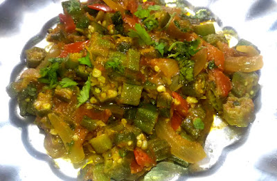 Stir Fried Okra, Bhindi Recipe
