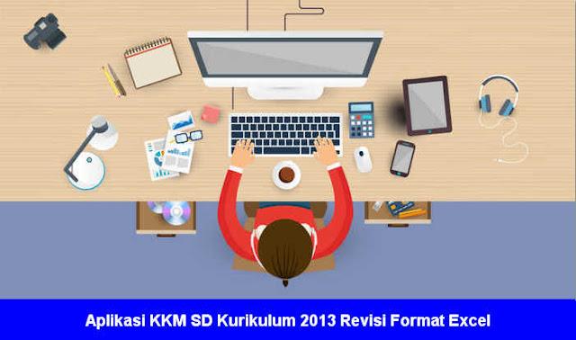 Aplikasi Kkm Sd Kurikulum 2013 Revisi Format Excel Excel