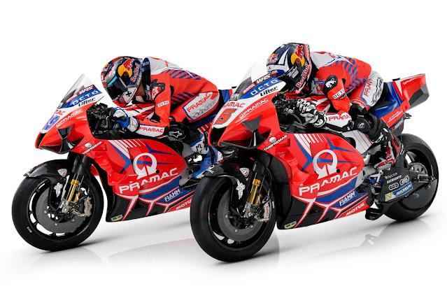 Ducati Pramac Racing Resmi Perpanjang Kontrak Jorge Martin dan Johan Zarco Untuk MotoGP 2022
