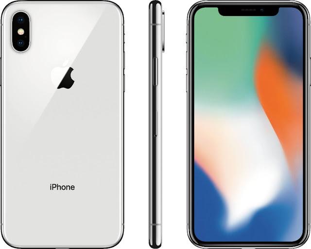 Apple-iphone-x-silver