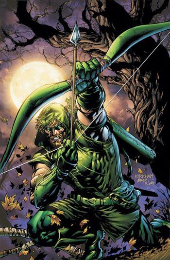 En los cómics Green Arrow parece Robin Hood