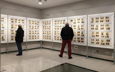 Inauguración de la XIII exposición del Grupo filatélico de Ensidesa