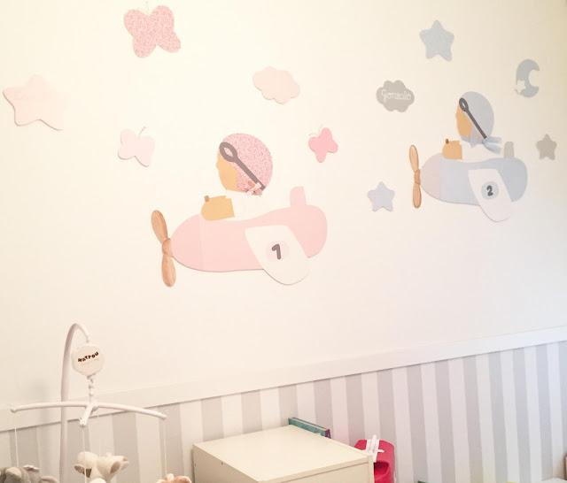 siluetas infantiles para decorar -decoración infantil personalizada