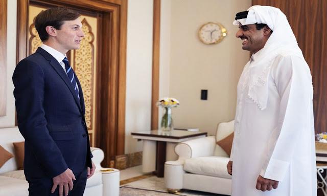 أمير قطر يلتقي جاريد كوشنر في الدوحة
