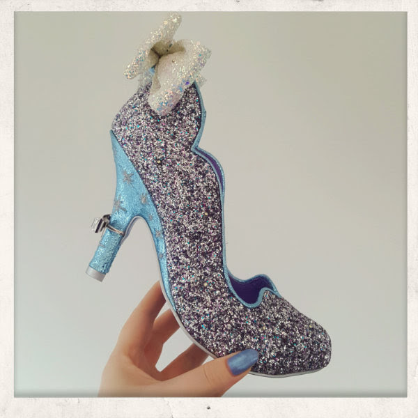 irregular choice cinderella sparkling slipper