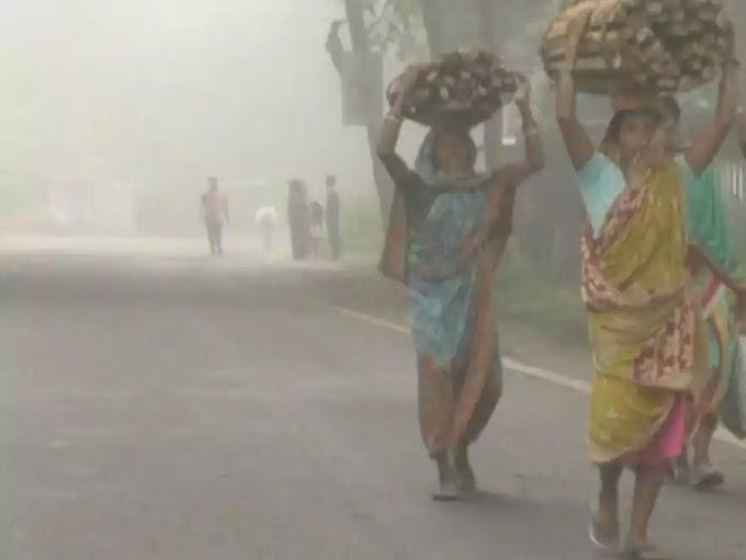 कंधमाल जिले में पहली सर्दी आ गई है। घना कोहरा ओर थोड़ा सर्दी लग रहा है।