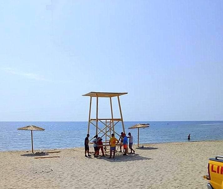 Ξάνθη: Εξέδρα ναυαγοσώστη στην παραλία Άη Γιάννη