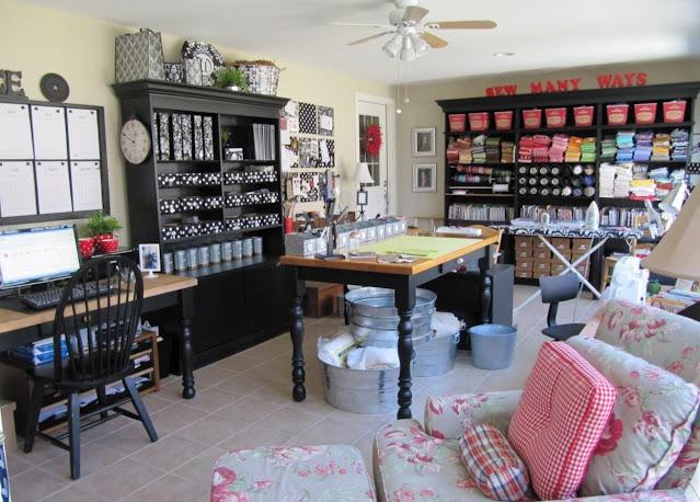top home office craft room design ideas photos