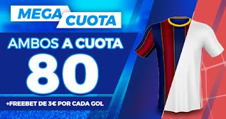Paston Megacuota doble clasico Barcelona vs Real Madrid 24-10-2020