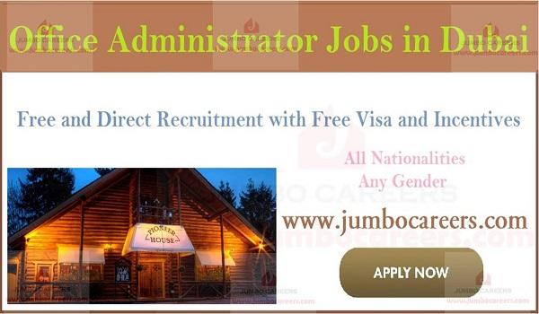 Latest company jobs in Dubai, Administration jobs in UAE,