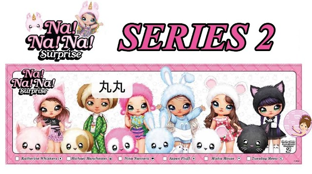 New Na Na Na! Surprise Series 2 Plush Dolls with Animal Hats