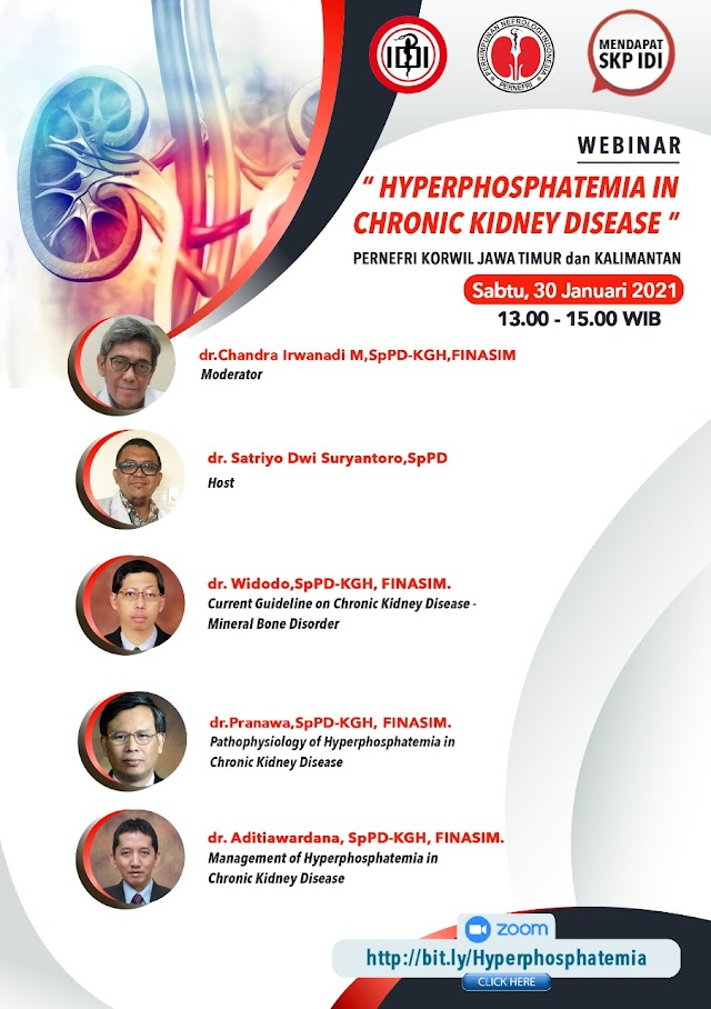 "Gratis SKP IDI Webinar ""Hyperphosphatemia in Chronic Kidney Disease"""