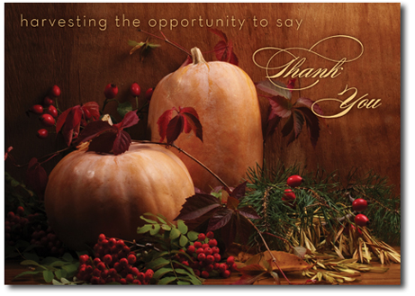 Thanksgiving cards thanksgiving business cards business thank you your business associates will love your style of exchanging thanksgiving greeting messages hope you like our collection m4hsunfo Gallery