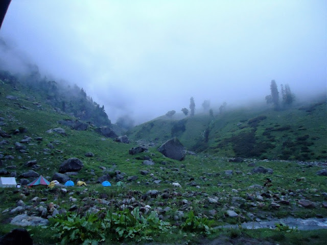 Campsite, Trek, Hampta Pass
