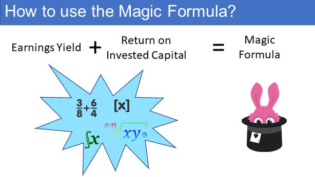 How to use the Magic Formula