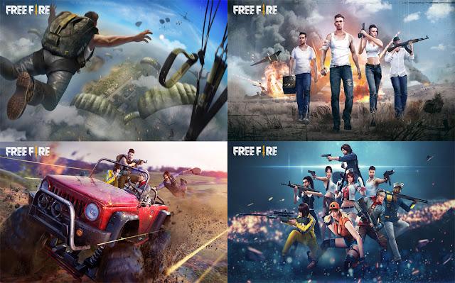download wallpaper free fire hd