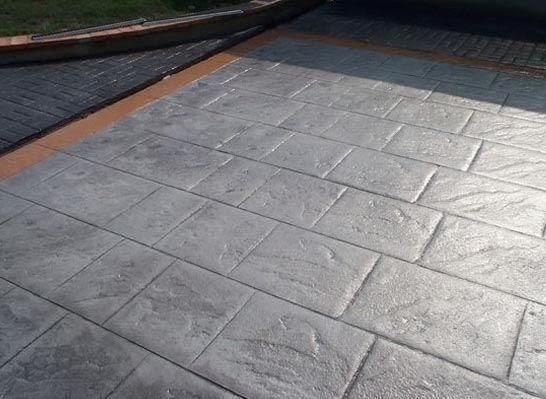 Hormigon impreso alzira cemento impreso alzira for Cemento pulido para exterior