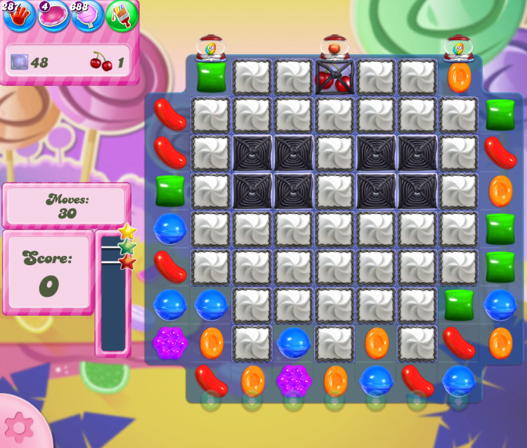 Candy Crush Saga level 2754