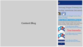 Cara Menambahkan Widget Latest Post Di Blog