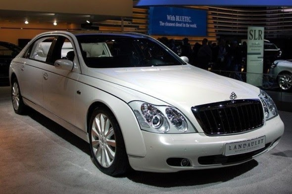 Sophisticated Cars Maybach Landaulet 2012