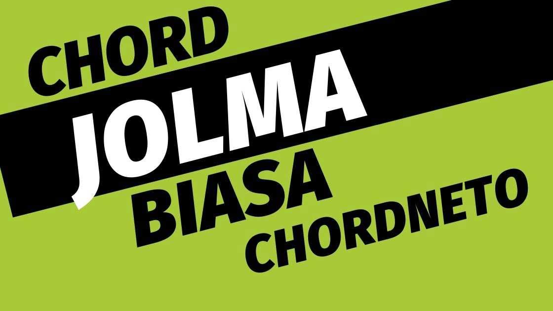 JOLMA BIASA chord A arghado trio