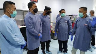 Plasma Konvalesen Minim, 76 Anggota Polres Jember Penyintas Covid-19 Bantu Donor Darah Plasma
