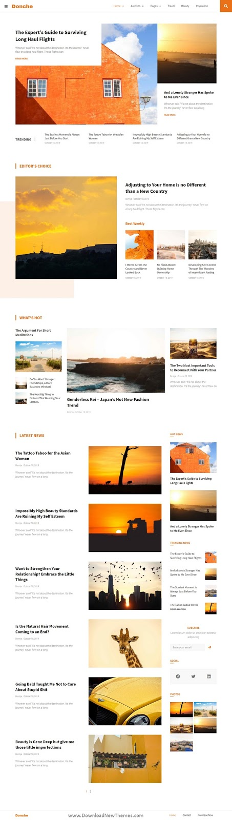 News & Magazine Template Kit
