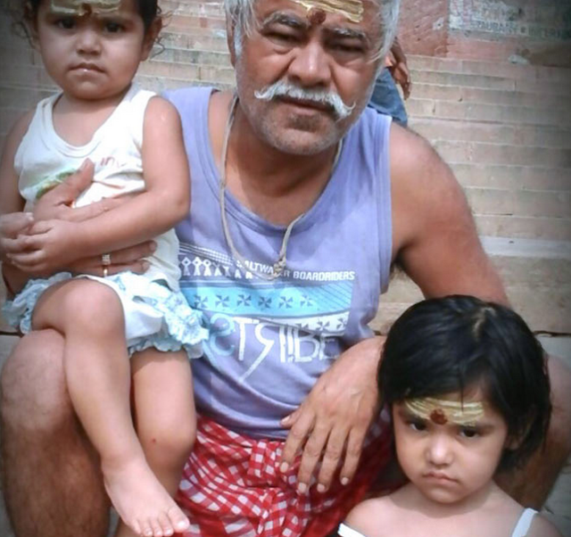 Actor Sanjay Mishra Family