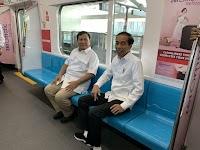 Foto Pertemuan Prabowo-Jokowi