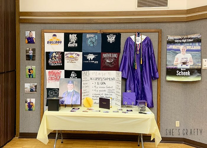 How to make a graduation display for your graduate