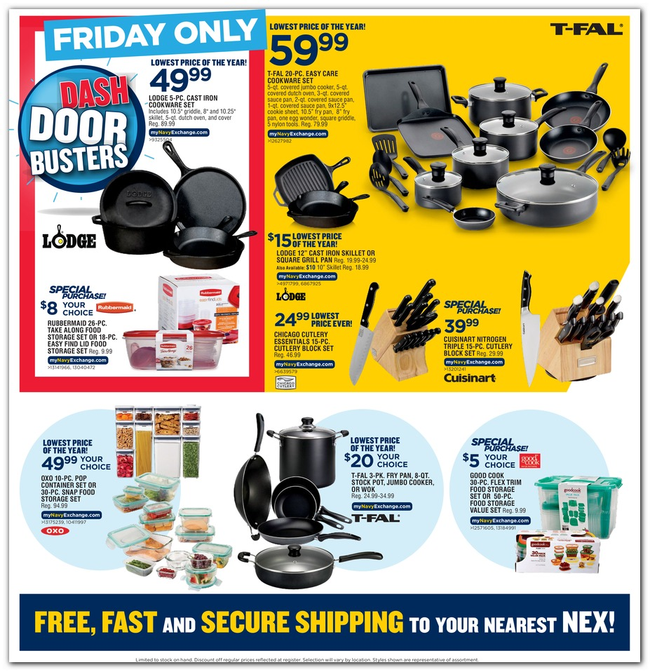 Navy Exchange Black Friday 2019 page 17