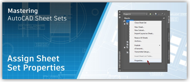 AutoCAD Blog: Mastering AutoCAD Sheet Sets - How to Assign
