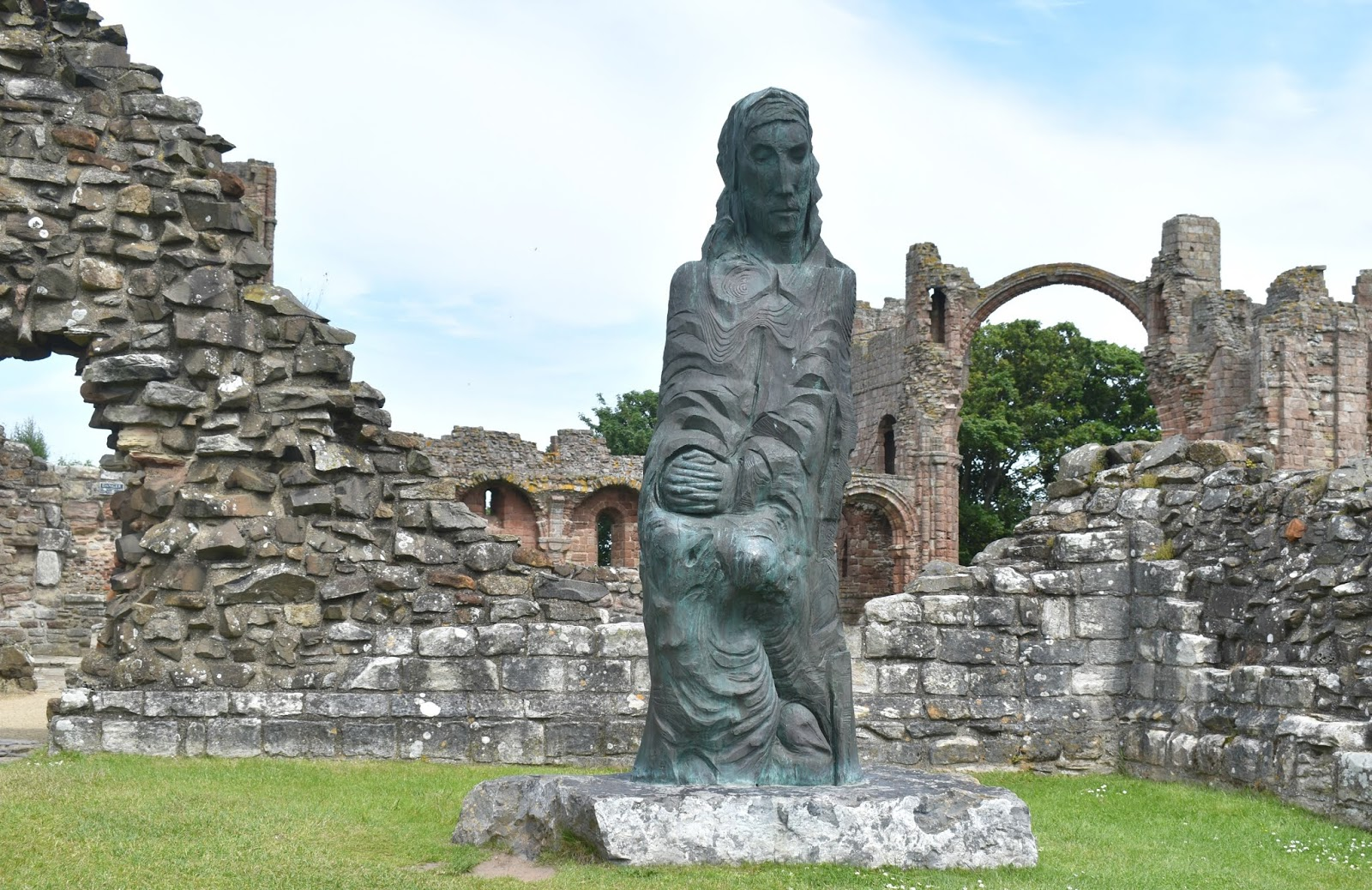 Holy Island of Lindisfarne - Priory