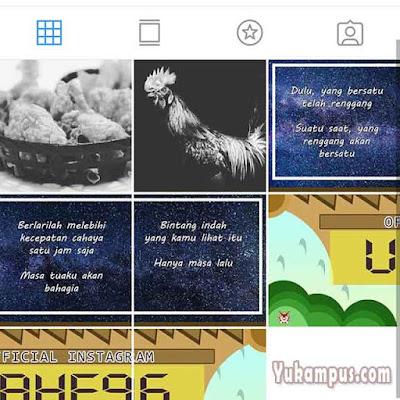 instagram setelah archive