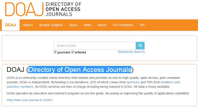 situs untuk mencari jurnal