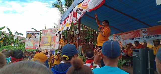 komitmen kami DPC Partai Hanura untuk meraih empat sampai enam  kursi