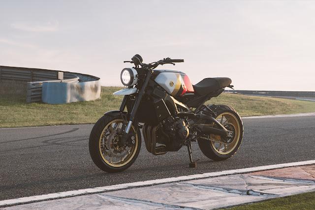 Yamaha XSR900 By Bunker Custom Cycles Hell Kustom