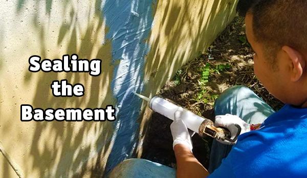 waterproofing the basement