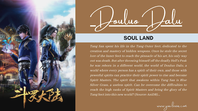 3D Chinese Anime Douluo Dalu