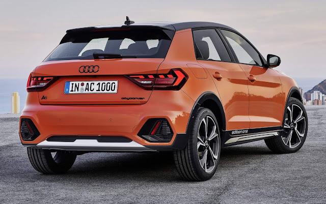 Novo Audi A1 citycarver 2020