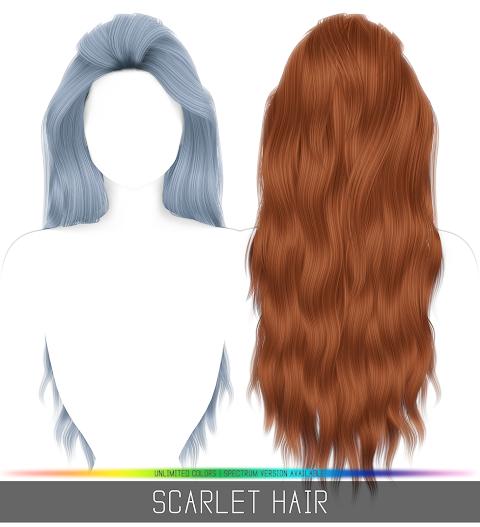 SCARLET HAIR (PATREON)