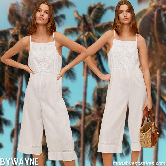 enteritos blancos verano 2021 moda