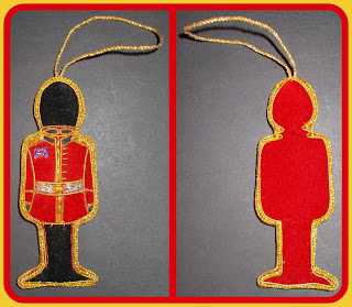 Christmas Bauble; Christmas Decoration; Christmas Figures; Christmas Guardsman Figure; Fabric Guardsman; Guards Bauble; Guardsman Bauble; Guardsman Hanger; Guardsman Toy Soldier; Guardsmen; Indian Made Guardsman; Indian Novelty Toys; Indian Toy Figure; Made in India; Padded Fabric Bauble; Small Scale World; Tree Decoration Guardsman; Tree Decoration Soldier; Tree Hanger;