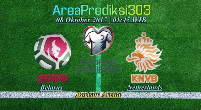 Prediksi Skor Belarus vs Belanda 08 Oktober 2017