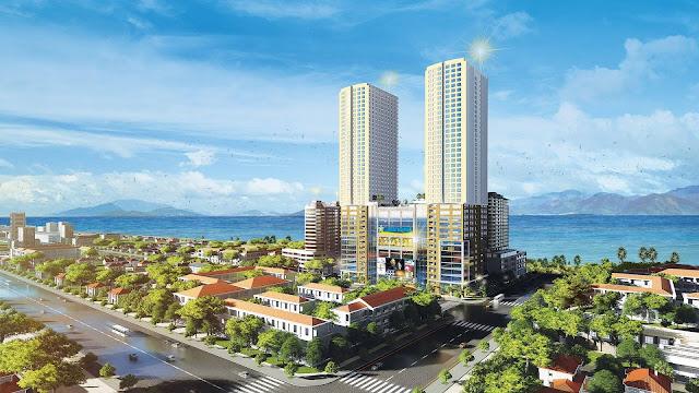 Phối cảnh dự án Gold Coast Nha Trang