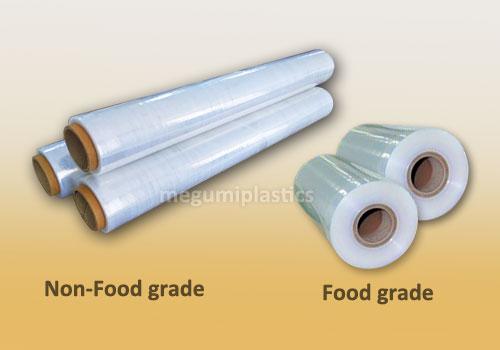 plastik wrapping non foof grade vs food grade