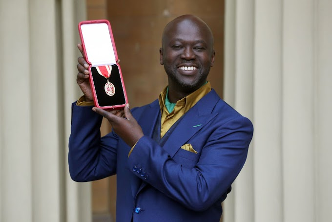 Ghanaian British Architect David Adjaye awarded Knighthood today
