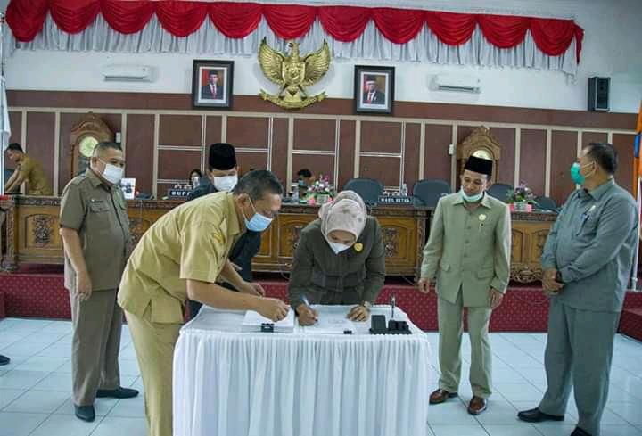 R APBD Kabupaten Labuhanbatu Tahun 2021 Sebesar Rp  69.240.000.000,-