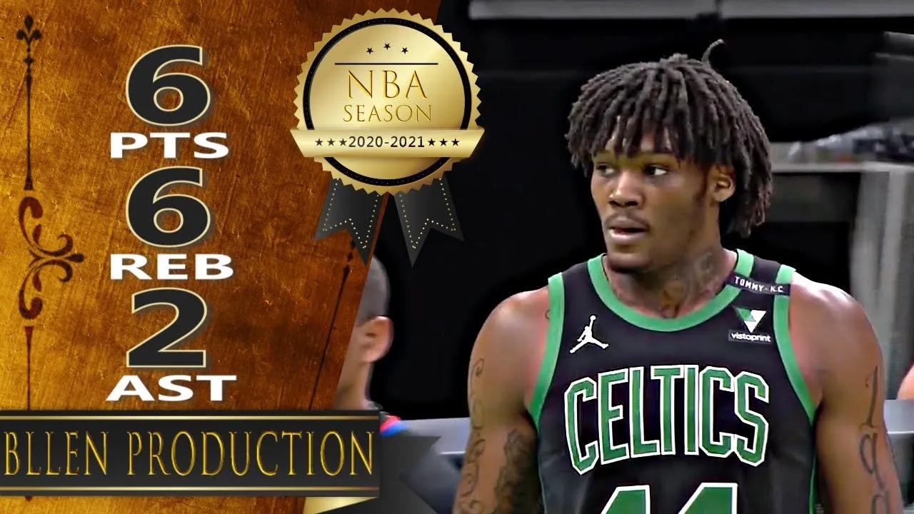 Robert Williams III 6pts 6reb vs WAS   February 28, 2021   2020-21 NBA Season